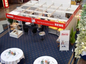 Rewe Messe Stand