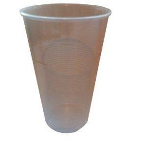 Plastikbecker 0,3 Liter in Klar