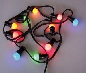 Lichterkette, 20m und 20 Glühbirnen