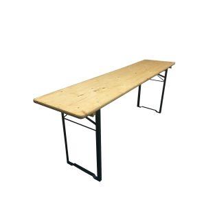 Festzeltgarnituren nur 50 cm Tisch