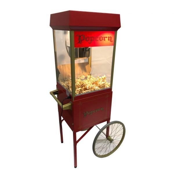 Popcorn mit Wagen