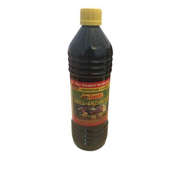 Grill Anzünder Flüssig, 1 Liter