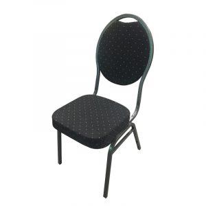 Bankett-Stuhl schwarz