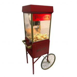 Popcornmaschine mit Deko Wagen
